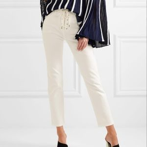 CHLOÉ - HIGH-RISE JEANS - WHITE